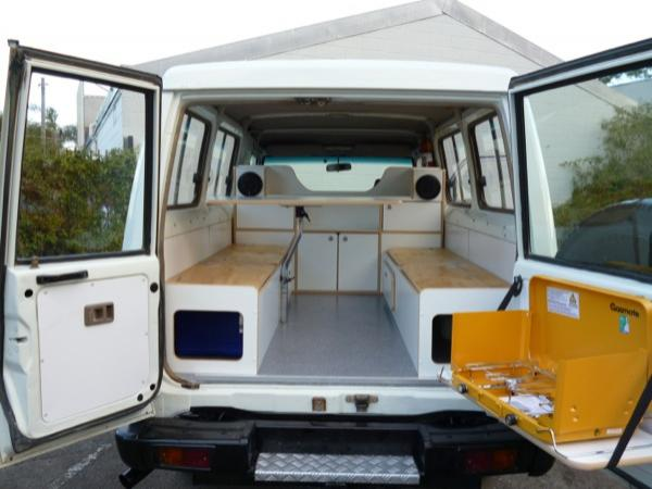 used toyota land cruiser for sale in sydney bushcamper