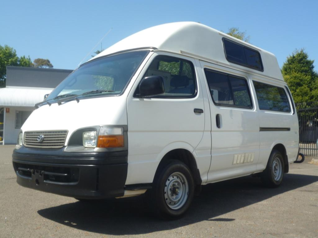 Cheap Ex - Rental Toyota Campervan for Sale Sydney