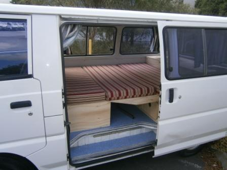063e796d92 Campervan Sales Sydney – we sell used small campervans. Travelwheels used  campervan sales Sydney have this great Mitsubishi Express ...