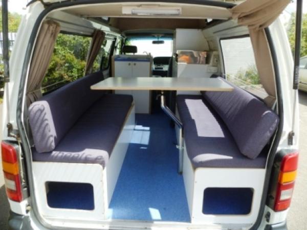 Gebrauchter Campervan zum Verkauf