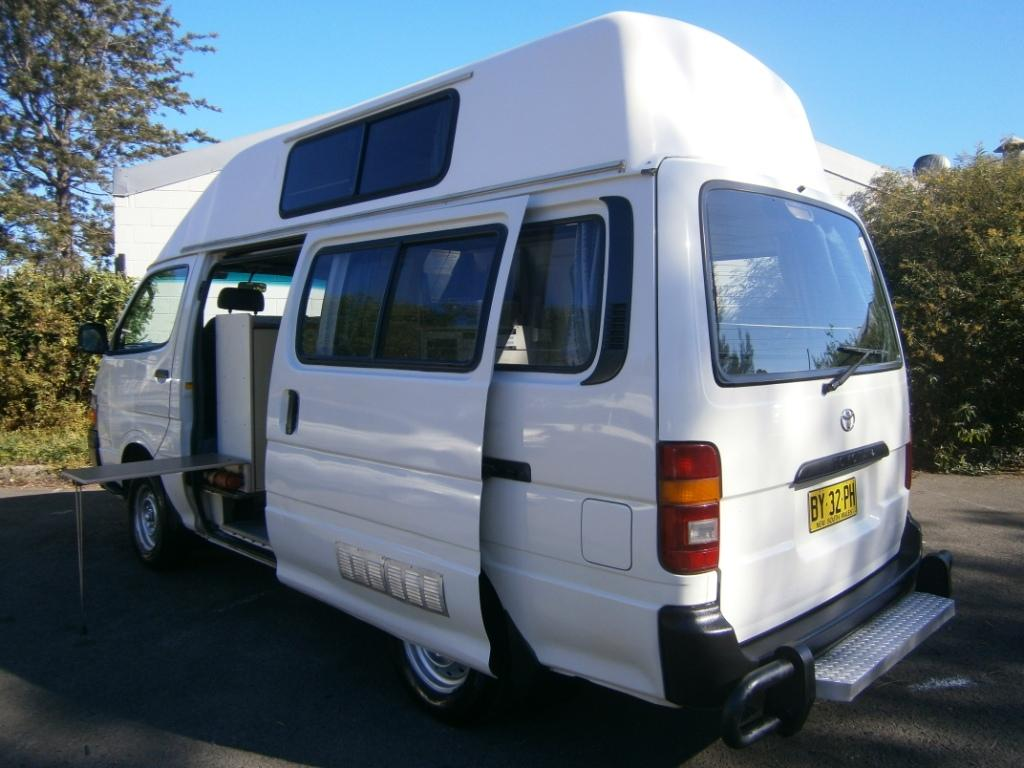 Toyota Hiace Ex Hire Campervan For Sale Travelwheels