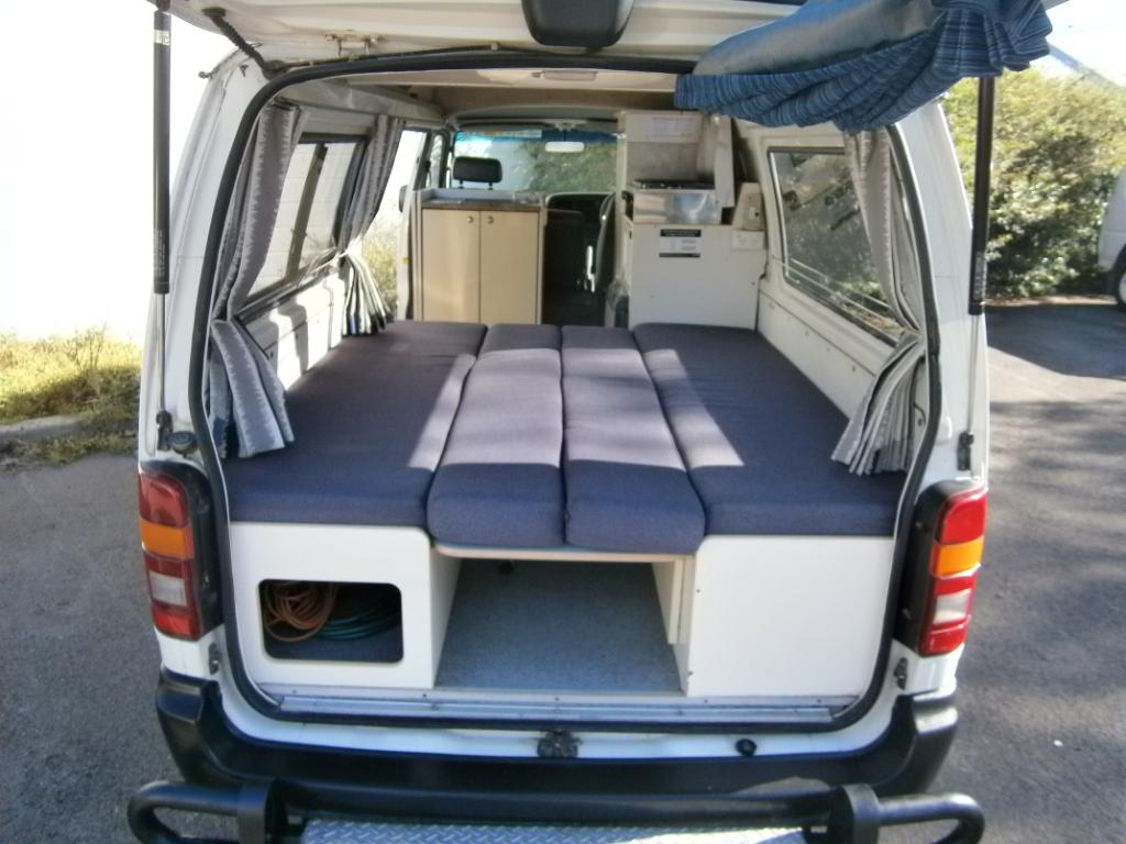 Toyota Hiace Ex Hire Campervan For Sale 12 Month Engine