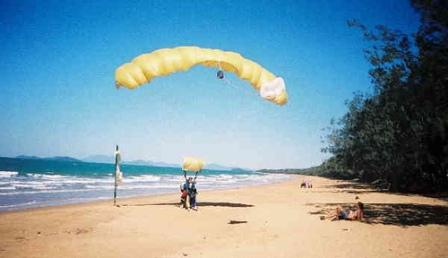 Mission Beach Skydive with Travelwheels Campervan Hire Brisbane Specials