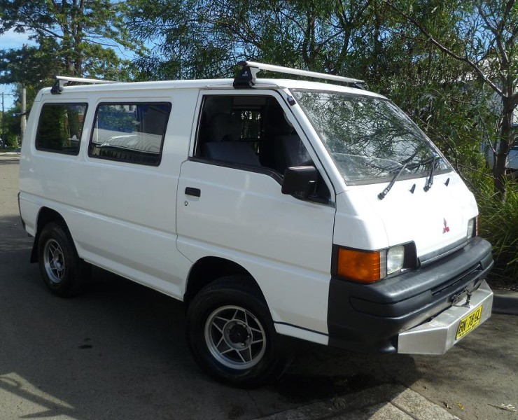Photo of a Mitsubishi used 4x4 campervans for sale in Sydney