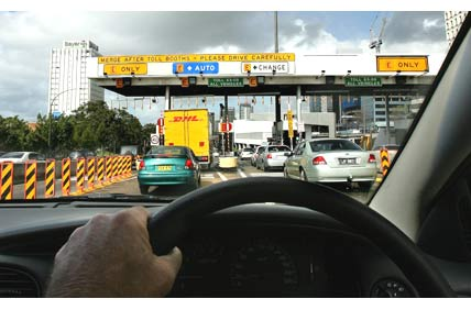 Photo of Toll Roads in Australia - this one is in Sydney