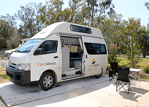 Travelwheels used campervan sales Sydney office