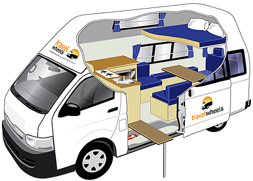 PassengerCampervanDayTimeConfiguration