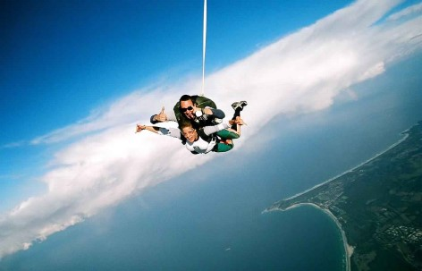 Byron Bay Sky Diving experience