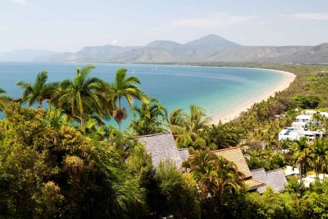 The 4 Mile Beach in Port Douglas is just one of many beaches Cairns surrounding areas have to offer