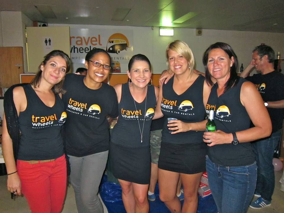 Campervan Hire Cairns Special deals from Travelwheels Staff photo