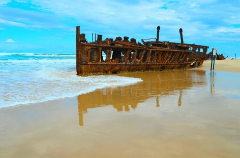The Fraser Island shipwreck will not be the only thing that leaves you speechless!