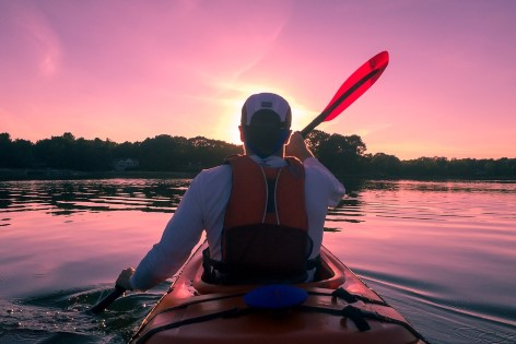 Kayaking is one of the most popular water sports in North Queensland