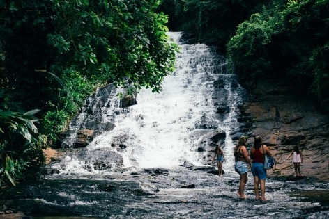 The Cascades near Cairns - Get ready for many waterfalls!