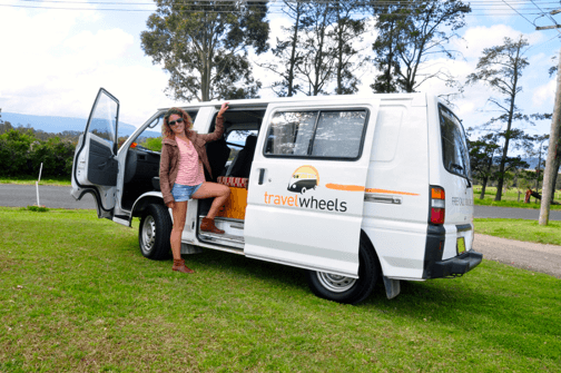 Photo of our Brisbane Campervan Hire 2 person campervan