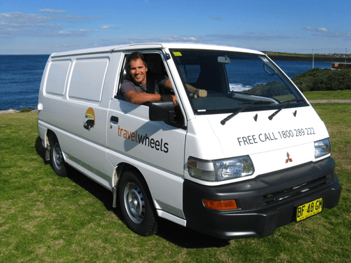 Photo of Mitsubishi Express Used Campervan for Sale in Sydney at the beach