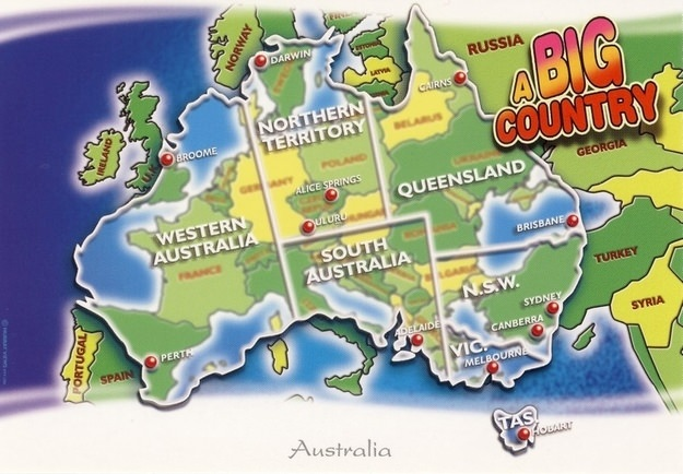 Things to do in Northern Territory - Australia it's a big country!