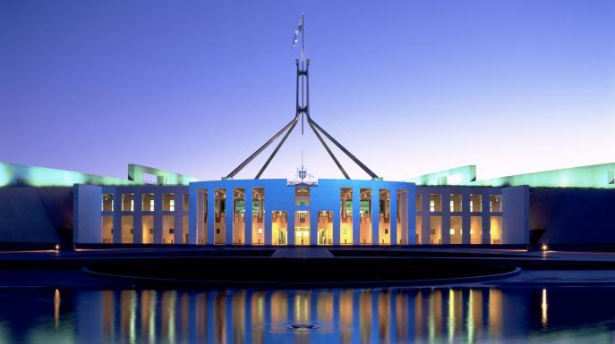 Things to do in Canberra - visit parliament