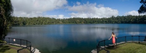 Lake Eacham - Amazing view!
