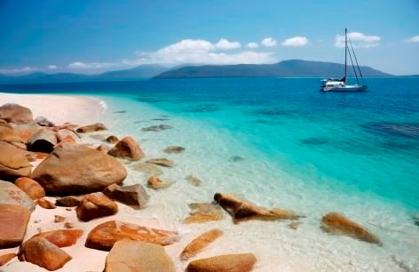 Fitzroy Island National Park is the perfect spot to snorkel the reef