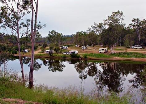 Free Camping: Calliope River Rest Area