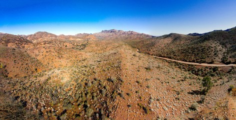 The Flinders Ranges surprises with fabulous views
