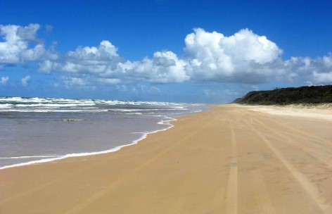 Fraser Island - long beaches, great nature!