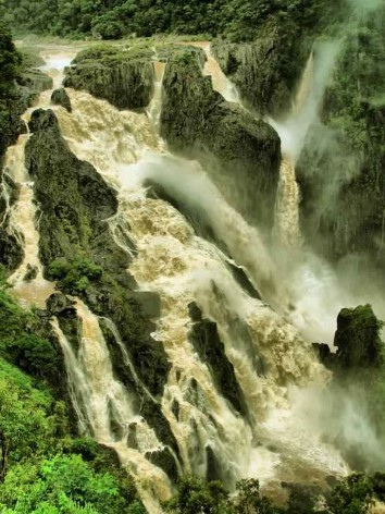 Barron Falls near Kuranda during wet season