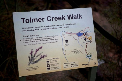 Tolmer Creek Walk - Litchfield National Park