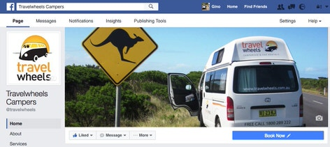 Travelwheels Facebook reviews page