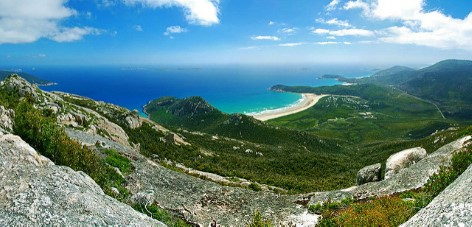 Wilson's Promontory - Spectacular view from Mount Oberon