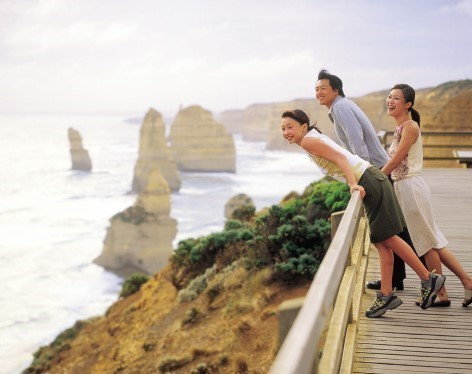 Twelve Apostles at the Great Ocean Road