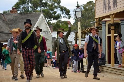 Ballarats' gold mining community