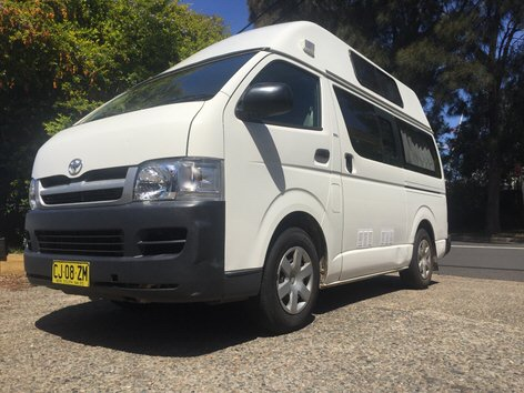 Toyota used campervans for sale in Sydney