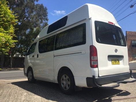 Toyota used campervans for sale in Sydney