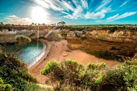 The Loch Ard Gorge