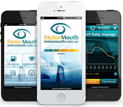 Motormouth lowest petrol prices in Australia app and website
