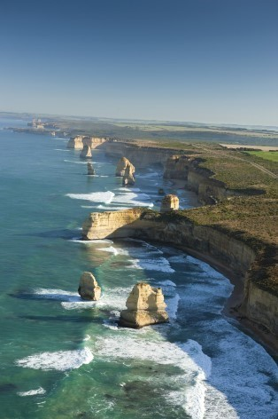 Photo of the 12 Apostles on the Great Ocean Road