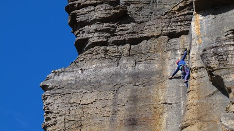 Adrenaline kick - Abseiling at the Grampians