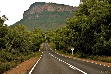 The Grampians National Park Road