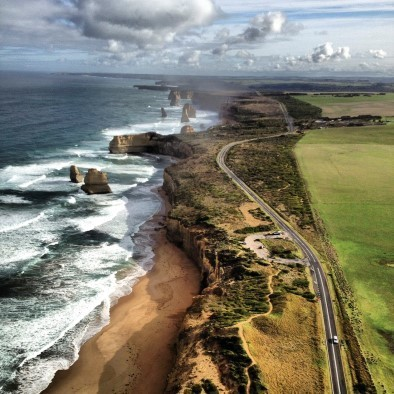 Twelve Apostles Aerial, Great Ocean Road, VIC