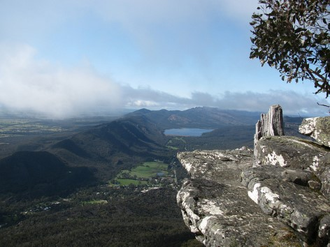 View from the top of The Balconies at the Grampians National Park