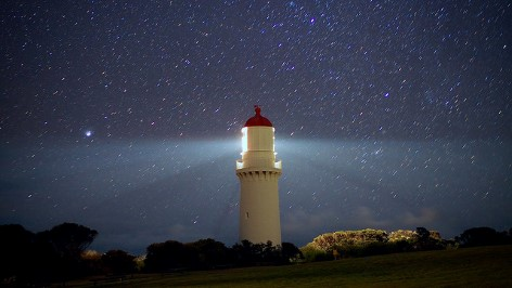 Cape Schanck Lighthouse is as beautiful at night as it is at day time!