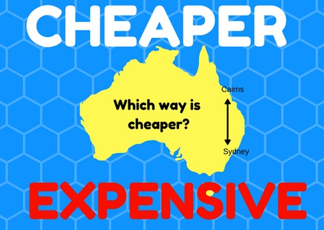 Which way is cheaper - cairns to sydney campervan hire or sydney to cairns?