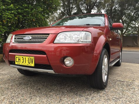 Used Ford Territory 4x4 for sale in Sydney - front view