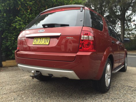 Used Ford Territory 4x4 for sale in Sydney - REF:COM-CH31UV 1