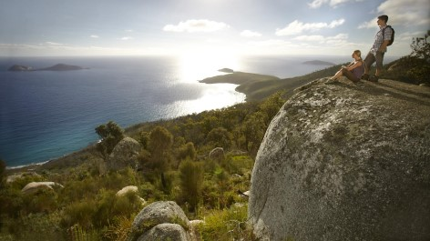 Wonderful lookouts await you on your WIlsons Prom Tour