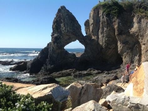 Australian Rock near Narooma