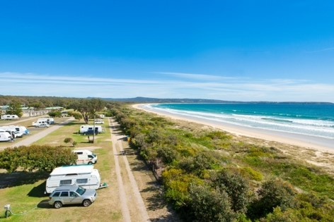 Pambula Beach Caravan Park - A great spot to stay for the night