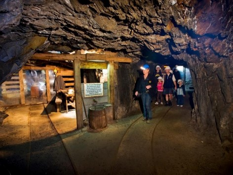 Walhalla's Long Tunnel Extended Gold Mine