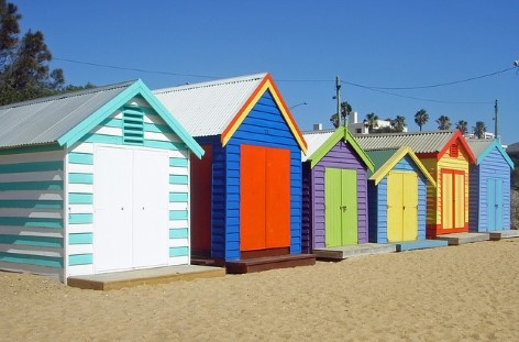 Melbourne's Bathing Boxes